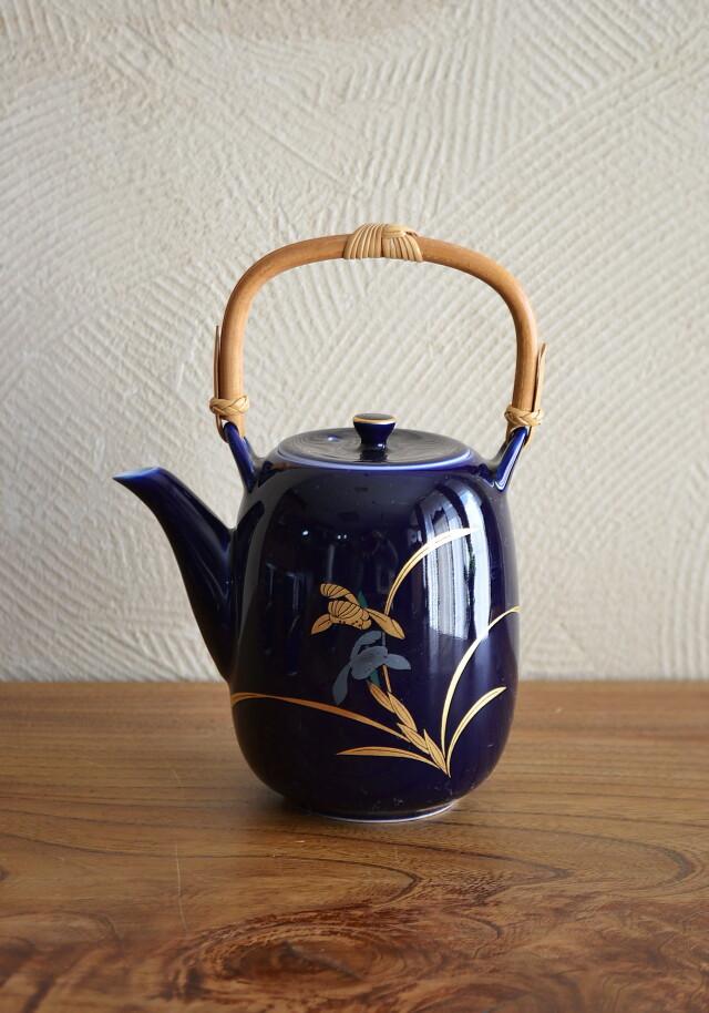 昭和レトロ香蘭社煎茶セット 急須と茶碗4客