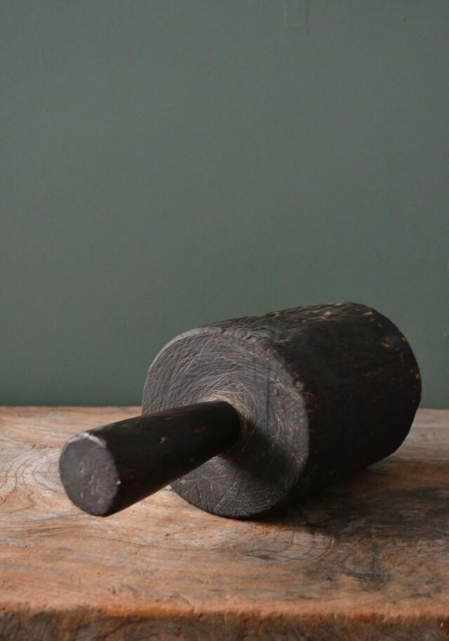 アンティーク 木槌 古道具