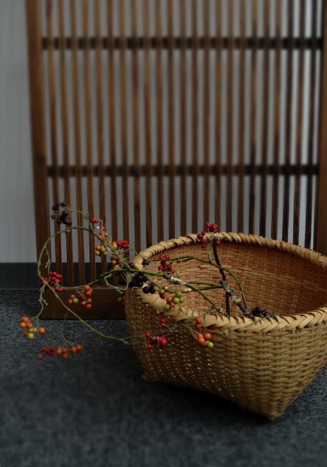 竹籠 小物入れ籠