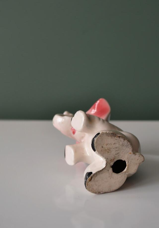 昭和レトロ 小さな象のフィギュリン