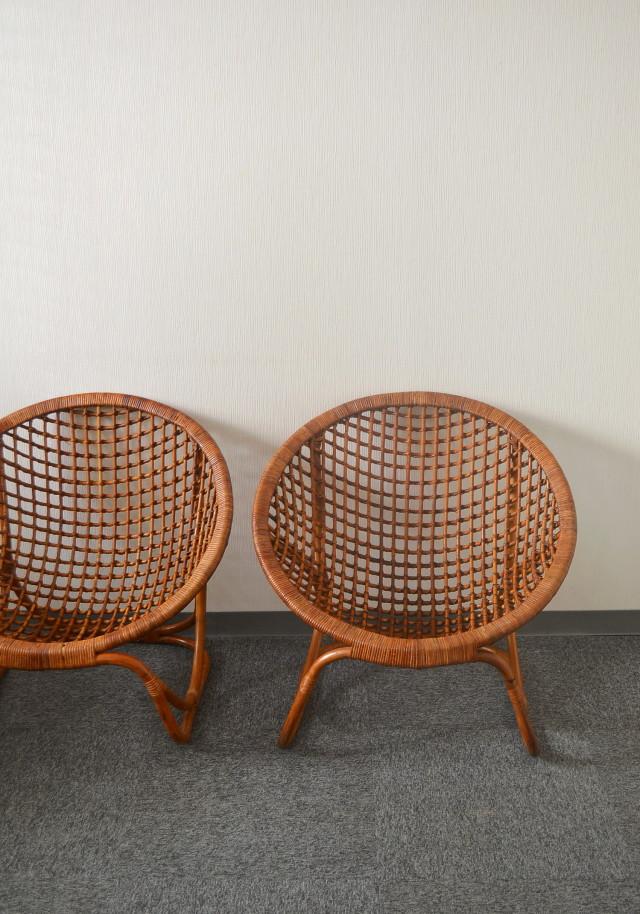 籐の椅子 バンブーチェア