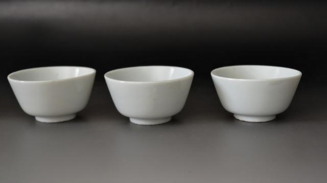 白磁煎茶碗 蔵出し未使用品 白磁向付 白磁和食器 五客組