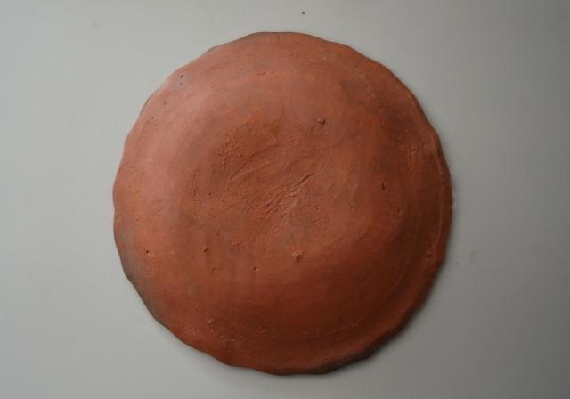 備前焼煎餅皿 豆皿 骨董 小皿