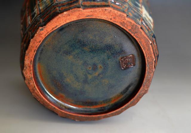 瑞雲作手桶水指 茶道具