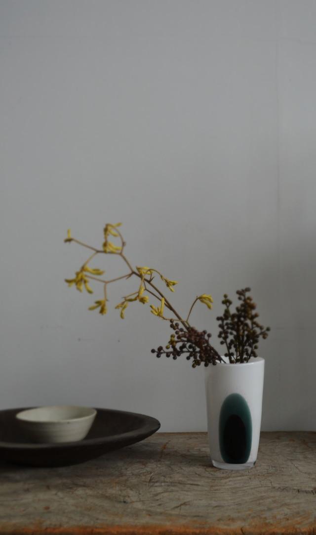 ガラスモダングラス 花器