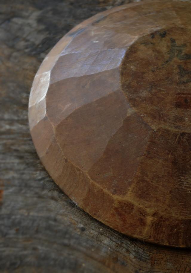 木皿 繭皿 アンティーク 民藝