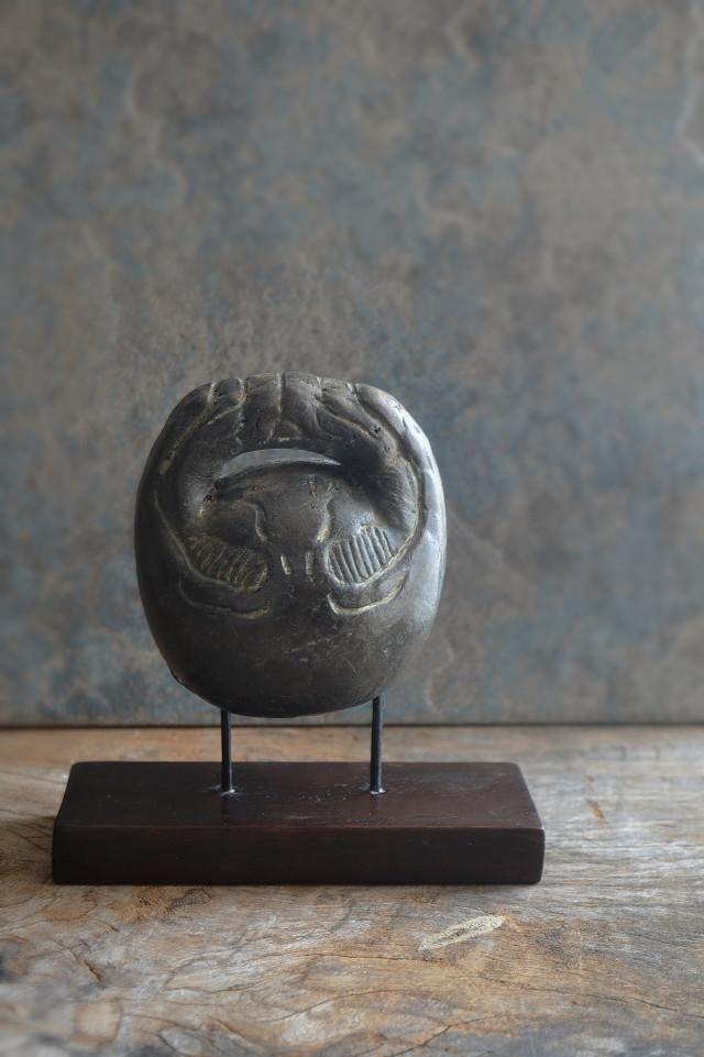 土鈴 木魚形 アンティーク アンティークオブジェ