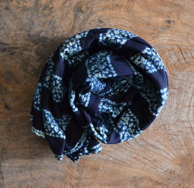 アフリカ藍染布