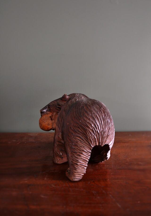 熊の木彫 北海道民藝