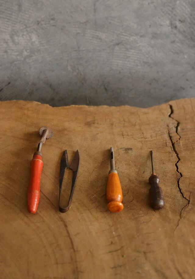 古道具 4点道具 ディスプレイ小物