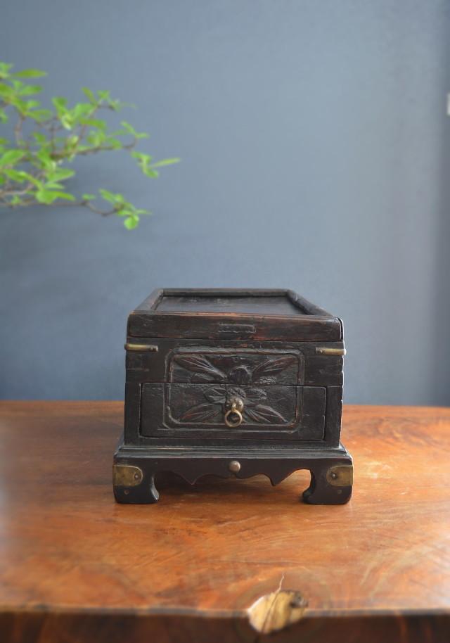 李朝文筆箱 硯箱 小箱 化粧箱
