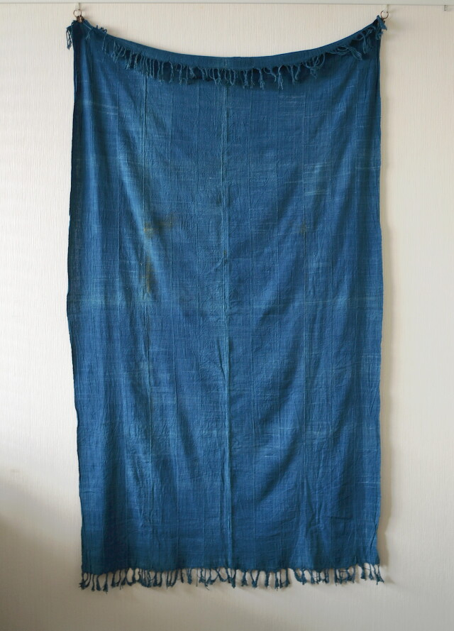 アフリカ布 藍染 インテリア ファブリック