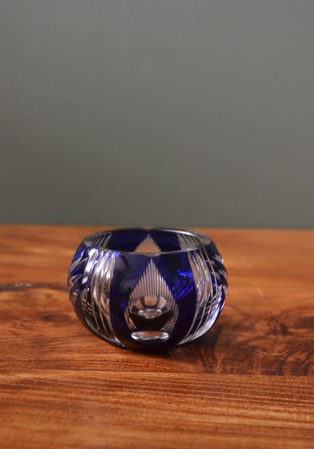 切子の小鉢 花入れ 灰皿