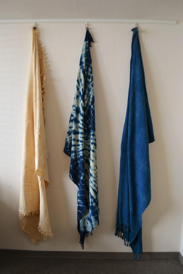 アフリカ布 藍染