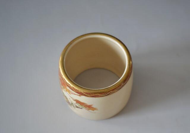 岡田暁山作 京薩摩 皆具 茶道具