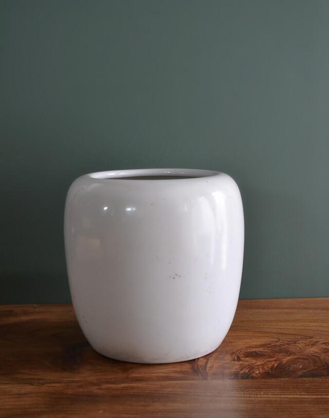 白磁火鉢 手あぶり 鉢カバー